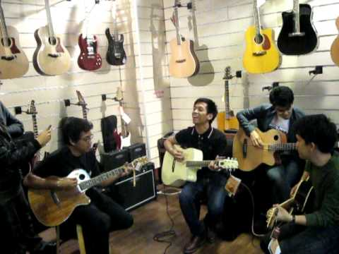 Music Malaysia - D'Masiv Visits Guitar Empire Part 1