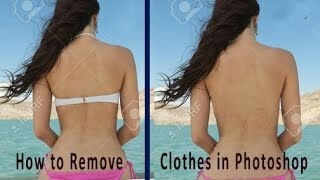 How to Remove clothes by PicsArt