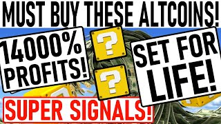 +14000% PROFIT ALTCOIN PICKS! PARABOLIC GEM PICK READY TO BOOM! BITCOIN MOVE COMING IN 24Hrs!