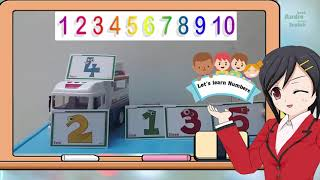 Police car: Lets learn Numbers || Learn Numbers for kids