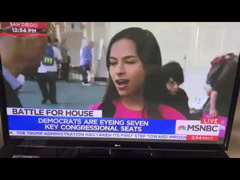 MSNBC Anchor Richard Lui Live from CA Democratic Convention 2018