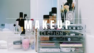 makeup collection feat muji acrylic boxes