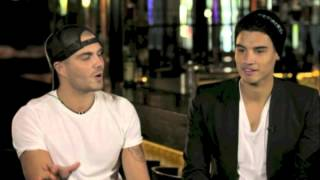 The Wanted - Max & Siva Interview | Bigpond Music