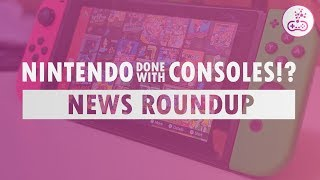 NINTENDO DONE WITH CONSOLES!? Game Oasis - Weekly Gaming News Roundup