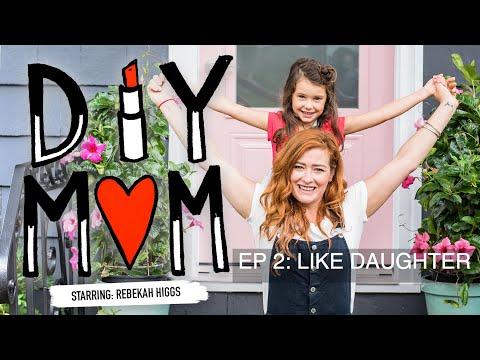 DIY Mom Ep 2: Like Daughter- How to Wallpaper & Weaving Tutorial