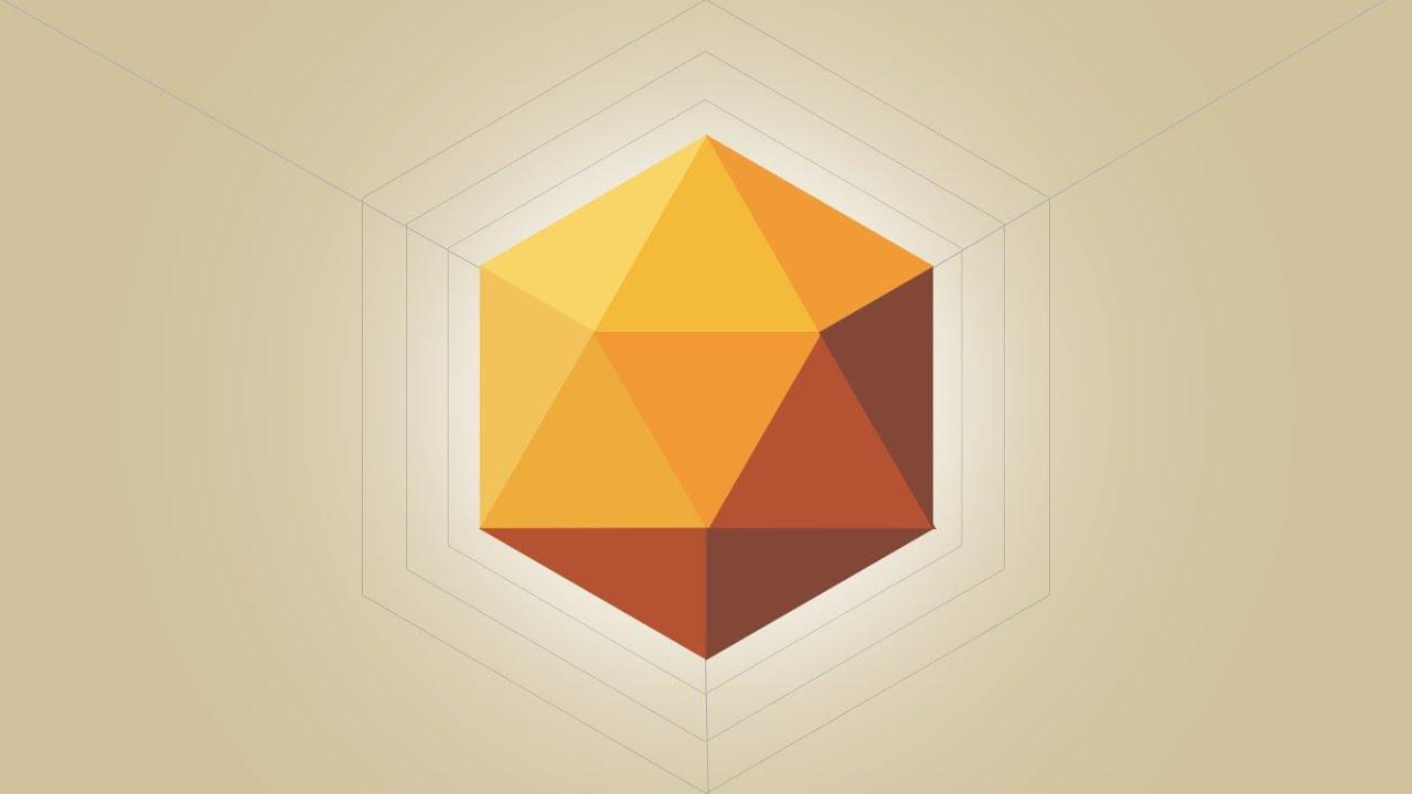 Photoshop tutorial polygon logo design youtube its youtube uninterrupted baditri Gallery
