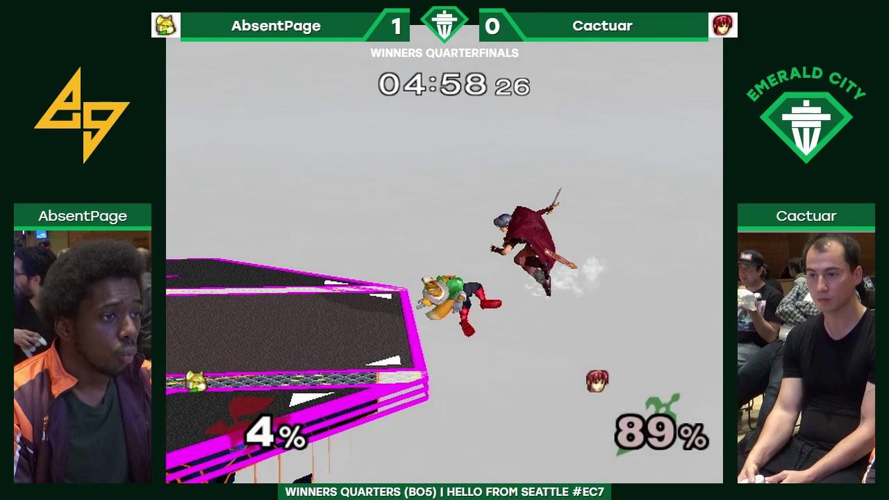 EC7: Winners Quarters — CLN | AbsentPage (Green Fox) vs. Cactuar ...