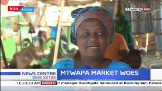Mtwapa traders air their dissatisfaction in market woes
