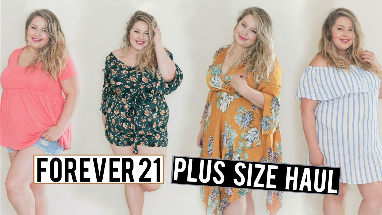 9ee03cf86bb9 FOREVER 21 Plus Size Try On Haul 2018