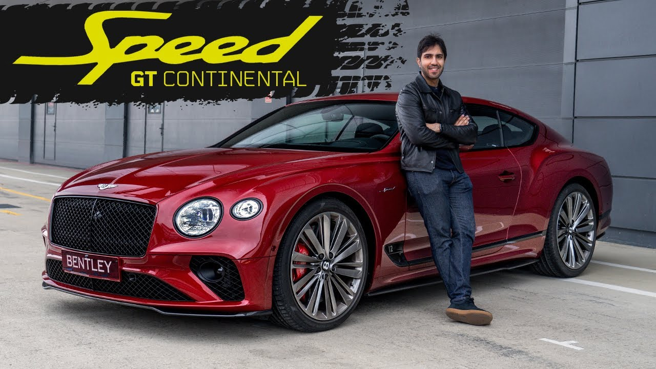 2021 Bentley GT Speed! 0-60 in WHAT?! Fastest Continental Ever!