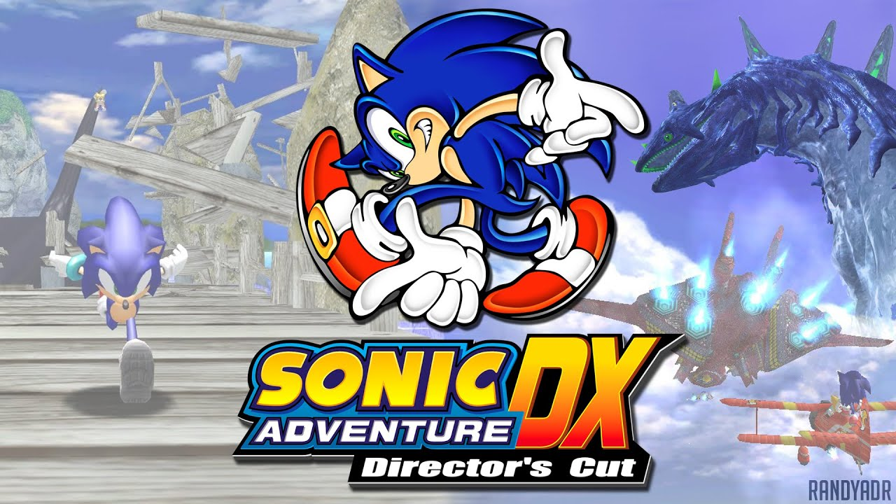 Sonic Adventure Dx Sonic Story Part 2 Egg Hornet And Windy Vally