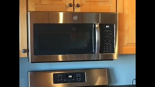 Complete Over the Range Microwave Installation including removing the old microwave.