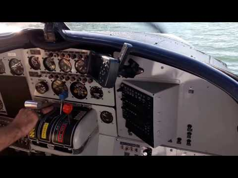 GREAT DeHavilland Tubine Otter Seaplane Take-offs, Landings