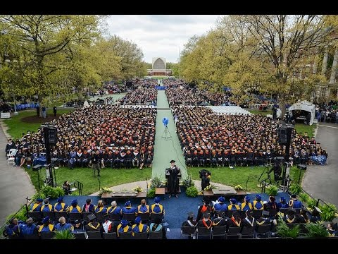 Commencement 2016: Arts, Sciences, and Engineering Ceremony