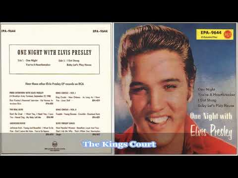Elvis Presley - One Night With Elvis - Vinyl - E.P Remake 2017