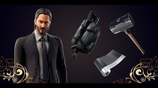 Fortnite Item Shop *NEW* John Wick Skin, Simple Sledge, Bullet proof and be seeing you emote + Wrap