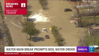 TRAFFIC ALERT: High-water spot along 610 East Loop