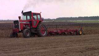 Massey Ferguson 1155 Tractor and 880 Plow
