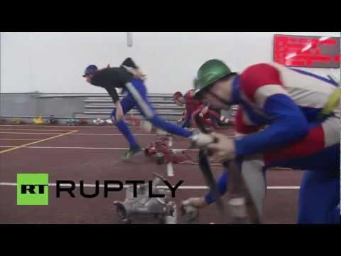 Russia: Fire fighters race to the top in championship