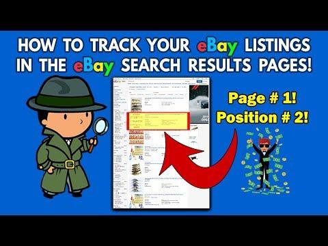 How-to Track eBay Listings Using eBay Rank Tracker in eBay Keyword Sniper Pro