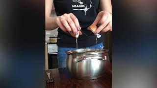 Простейший бисквит без миксеров и венчиков, в стеклянной форме, рецепт оставляю в описании