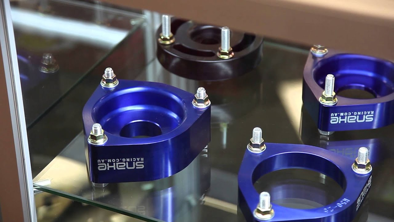 Snake Racing Coil Strut Spacers Youtube