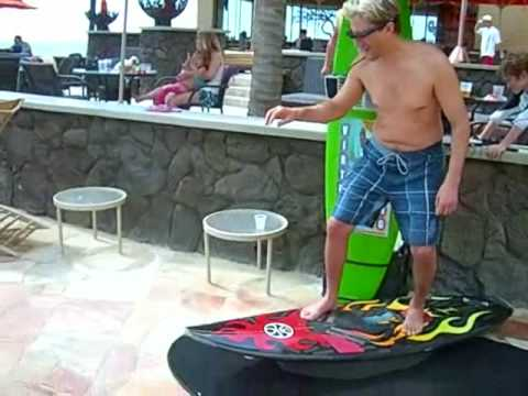 SURFING SIMULATOR, surf machine, show display