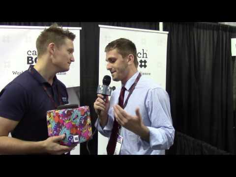 Catch Box (From Biz Bash) Segment: Variety Studio with Evan & Rob
