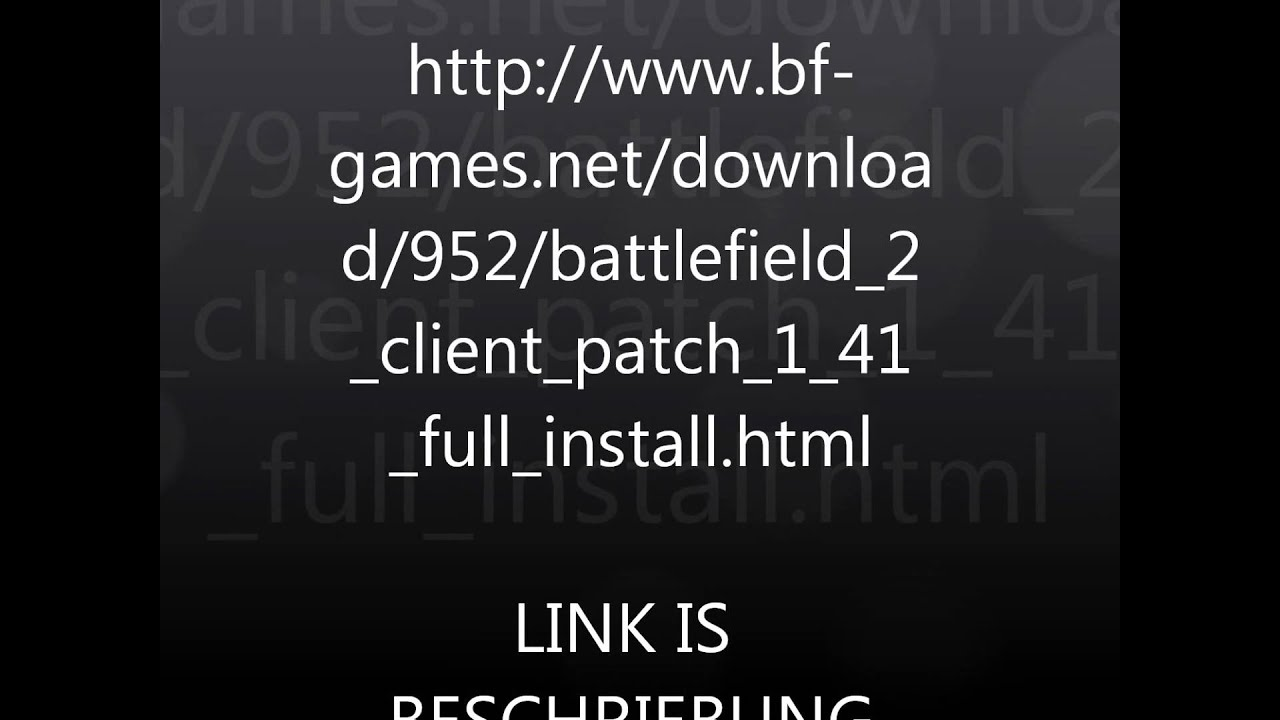 Battlefield 2 patch 12 download youtube