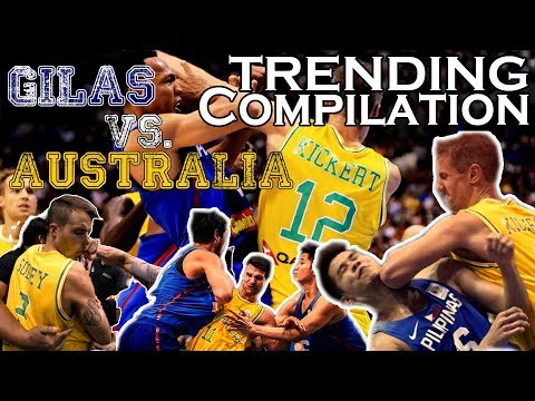 TRENDING Compilation: GILAS (Philippines) vs. AUSTRALIA