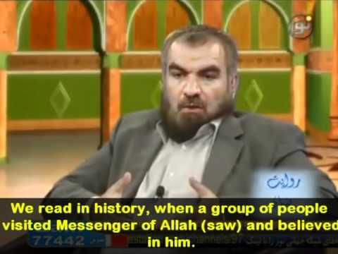 Iranian Shia writer becomes Sunni [Eng Subs]