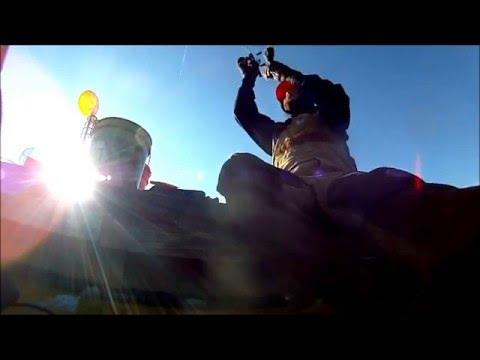 Alum Creek Central Ohio Ice Fishing- Marina Docks 2016