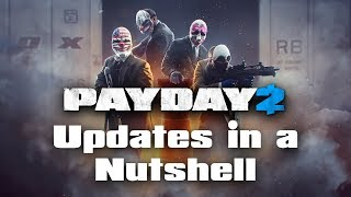 [Payday 2] Updates in a nutshell