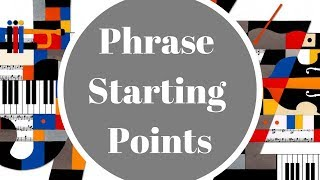 Gambar cover Jazz Improvisation -  Phrase Starting Points (effective)