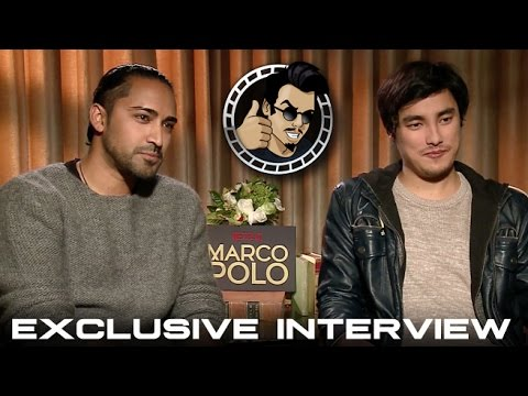Mahesh Jadu and Remy Hii   Netflix's Marco Polo HD 2014