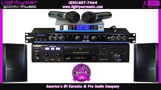 Professional Bluetooth Karaoke System Free Karaoke Songs Home Karaoke or Business Karaoke Pro Audio✅