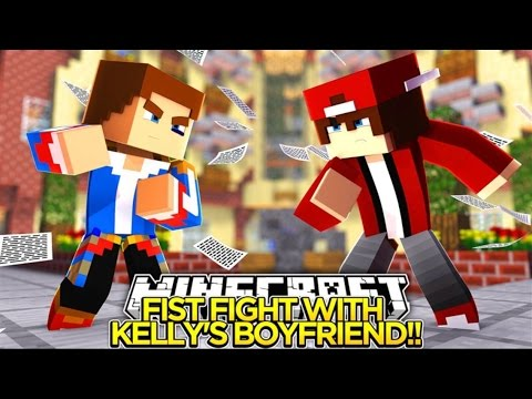 FIST FIGHT WITH LITTLE KELLY'S BOYFRIEND JAY!! - Little Donny Minecraft Custom Roleplay.