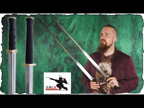 Ancient Chinese Sword Reproductions Done Right! (LK Chen Review)