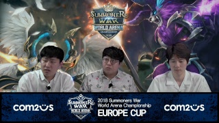 [KO] SWC2018 유럽컵 @Berlin | Summoners War | 서머너즈워