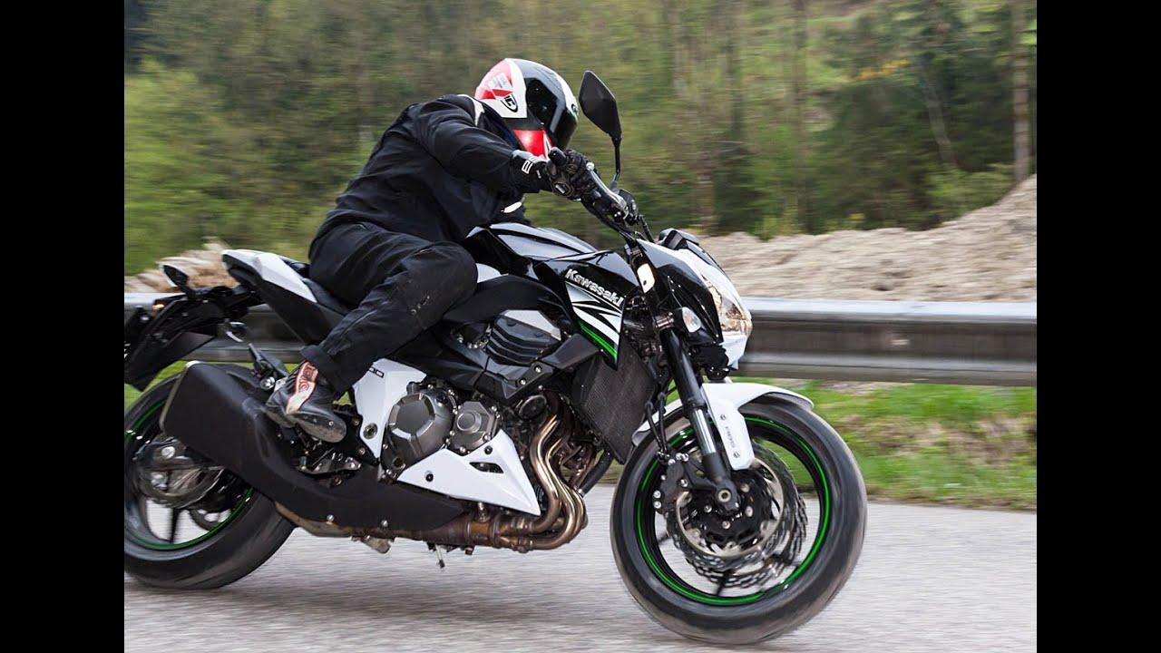 Test Video Kawasaki Z800 Nakedbike Vergleich 2013 Youtube