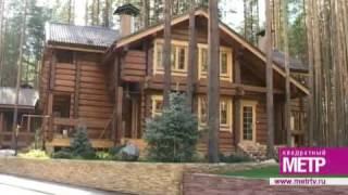 видео Камин в интерьере деревянного дома