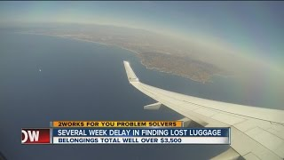 Several Week Delay In Finding Lost Luggage