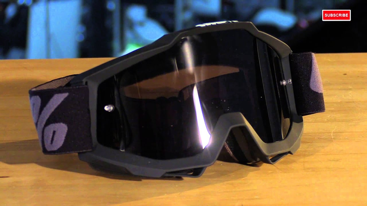 ee2c6dcc2a36 100 Percent Accuri Superstition UTV ATV Goggles Review - YouTube