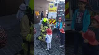 Встреча с пожарными #пожарные