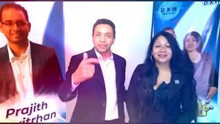 6º ANIVERSARIO DXN COLOMBIA Invitación Wilder y Milena