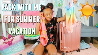 Pack With Me For Summer Vacation in LA!