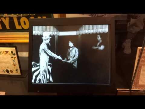 2013/2014 trip 紐約金融博物館-Liberty bond(卓別林的默劇)