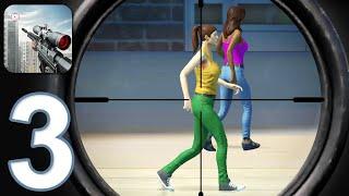 SNIPER 3D FUN FREE ONLINE FPS SHOOTING GAME - Walkthrough Gameplay Part 3 (iOS Android) screenshot 3