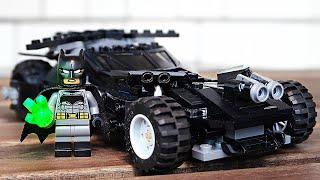 LEGO DC Бэтмобиль - НАБОР НА ОБЗОР (76045)