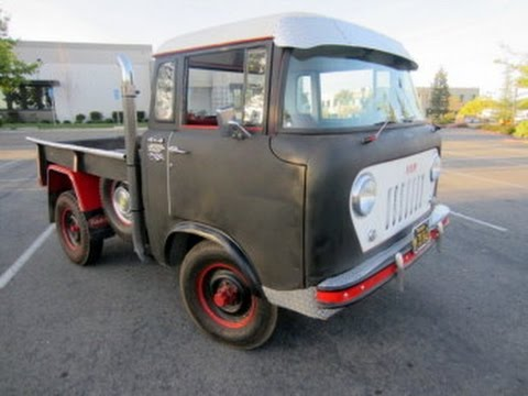 1959 Willys Fc 150 Jeep 4 X 4 Wide Track On Govliquidation Com Youtube